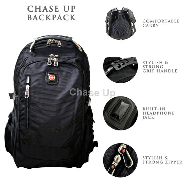 Gents Backpack 770 / TI-001 Imp (Black)